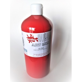 ARTMIX - BRIGHT RED - 1 LITRE