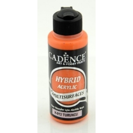 ORANGE HYBRID ACRYLIC PAINT 70ML