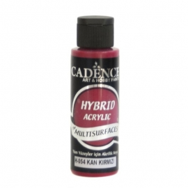 BLOOD RED HYBRID ACRYLIC PAINT 70ML