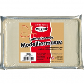 MEYCO LIGHT MODELLING CLAY WHITE - 1 KG