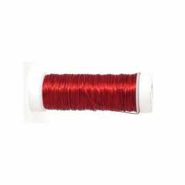 RED COPPER WIRE 0.35MM X 50METER