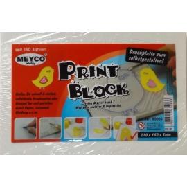 PRINT BLOCK 21 X 15CM X 5MM