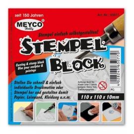 STAMP BLOCK 11 X 11CM X 10MM