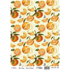 ORANGES RICE PAPER