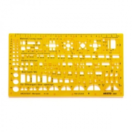 ARISTO ARCHITECTS COMB. TEMPLATE 1:100