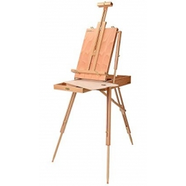 EASEL BOX WITH HANDLE