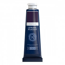L&B FINE OIL PAINT BLUE VIOLET  - 40ML