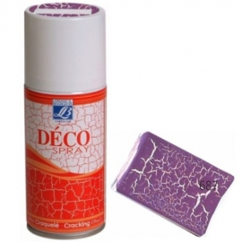 DECO SPRAY CRACKING PLUM - 150ML