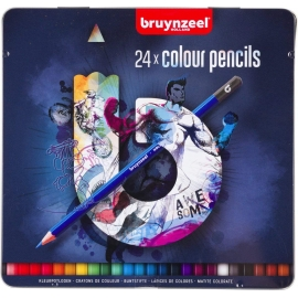 BRUYNZEEL COLOUR PENCILS X 24