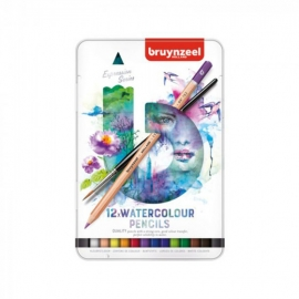 BRUYNZEEL EXPRESSION SERIES WATER COLOUR PENCILS X 12