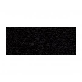 FINE KREPP PAPER 50 X 250CM - BLACK