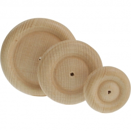 WOODEN WHEEL 60 X 16MM