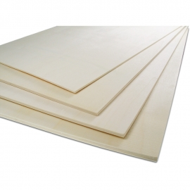 BIRCH PLYWOOD SHEET 30 X 50CM 3MM