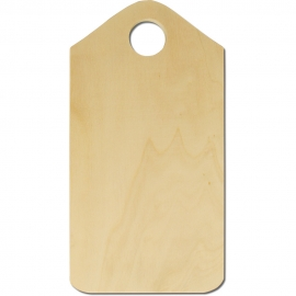 HAM BOARD WITH LOCK 28 X 15.5CM