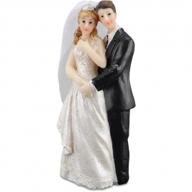 WEDDING COUPLE 10CM