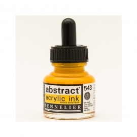 ACRYLIC INK 30ML - CADMIUM YELLOW DEEP HUE