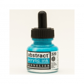 ACRYLIC INK 30ML - AZURE BLUE