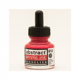 ACRYLIC INK 30ML - CADMIUM RED LIGHT HUE