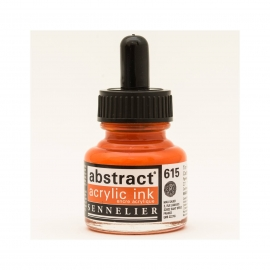 ACRYLIC INK 30ML - CADMIUM RED ORANGE HUE