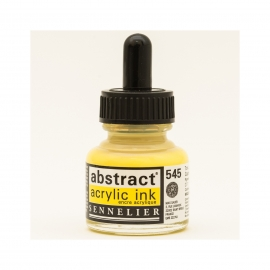 ACRYLIC INK 30ML - CADMIUM YELLOW LEMON HUE