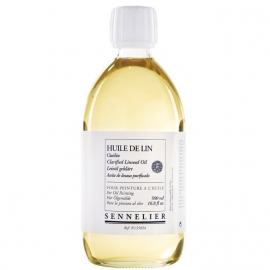 CLARIFIED LINSEED OIL 500ML