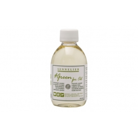 OIL BRUSH CLEANER 250ML GREEN FOR OIL