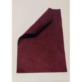1mm Felt Sheet - Wine Red