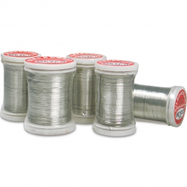 MEYCO SILVER PLATED WIRE 0.25MM X 100M