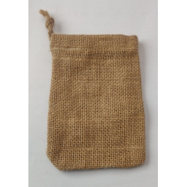 MEYCO JUTE BAG 9 X 13CM - NATURAL