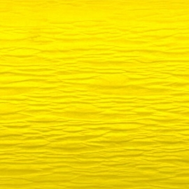 MEYCO FINE CREPE PAPER 50 X 250CM - GOLD YELLOW