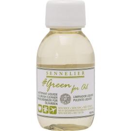 SENNELIER OIL BRUSH CLEANER 100ML - GREEN FOR OIL