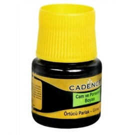 CADENCE GLASS AND CERAMIC PAINT 45ML - WHITE