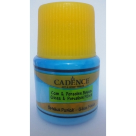 CADENCE GLASS AND CERAMIC PAINT 45ML - BABY BLUE