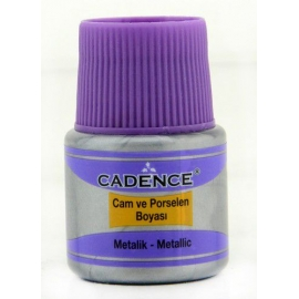 CADENCE GLASS AND CERAMIC METALLIC PAINT 45ML - GOLD