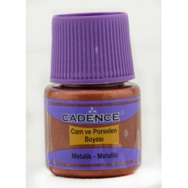 CADENCE GLASS AND CERAMIC METALLIC PAINT 45ML - PEARL