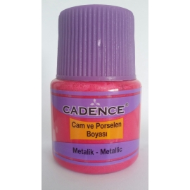 CADENCE GLASS AND CERAMIC METALLIC PAINT 45ML - COPPER
