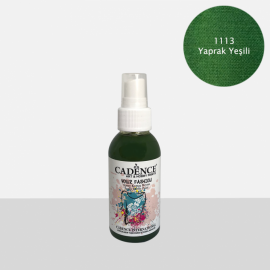CADENCE YOUR FASHION SPRAY PAINT FABRIC 100ML - LEAF GREEN