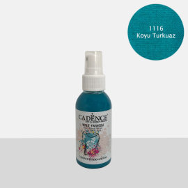 CADENCE YOUR FASHION SPRAY PAINT FABRIC 100ML - DARK TURQUOISE