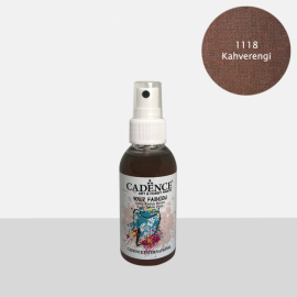 CADENCE YOUR FASHION SPRAY PAINT FABRIC 100ML - BROWN