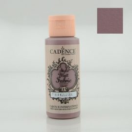 CADENCE STYLE MATT FABRIC PAINT 59ML - ASCHY ROSE