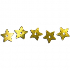 MEYCO SEQUINS SMALL STAR - GOLD 1,400 PCS
