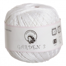 Himalaya - GARDEN 10 MERCERIZED COTTON 50 GRM - Cream