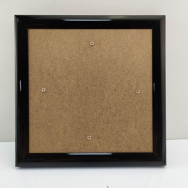 BLACK 21 X 21CM PICTURE FRAME FOR DIAMOND PAINTING CARDS