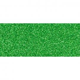 FUN FOAM 2MM WITH GLITTER - GREEN