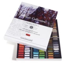ARTIST SOFT PASTEL CARDBOARD BOX 120 1/2 PARIS COLLECTION