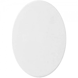 OVAL STERTCHED CANVAS  30 X 40CM
