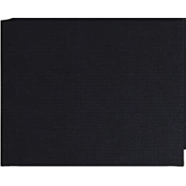 BLACK CANVAS PANEL 20 X 30CM