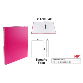 2 RING BINDER WITH LINED CARDBOARD 50MM , 40MM RINGS A4