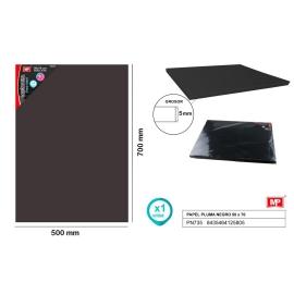 FOAMBOARD BLACK 50 X 70CM 5MM