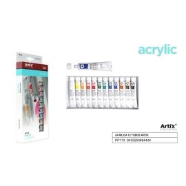ACRYLIC PAINT SET 12 X 12ML